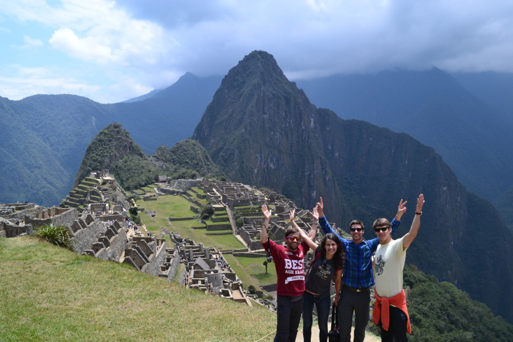 Typical tourist pic at Machu Picchu