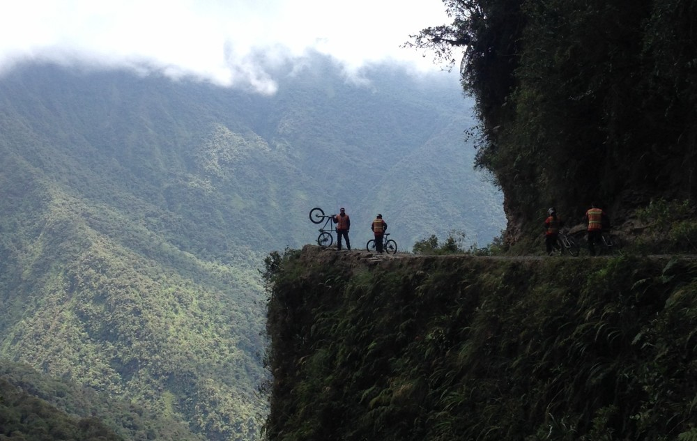 Bike trip on the World's Most Dangerous Road