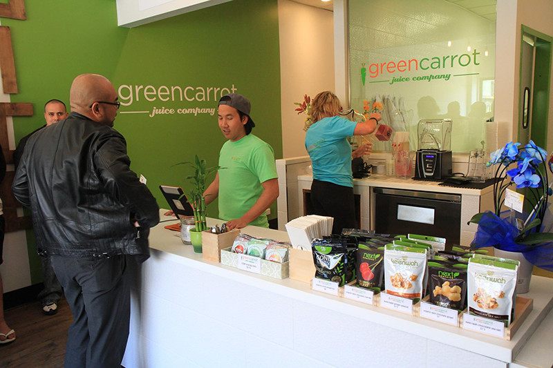 Green Carrot Cold Pressed Juice