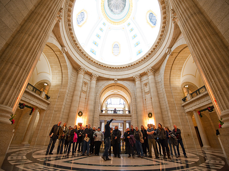 Hermetic Code Tour of the Manitoba Legislative Building