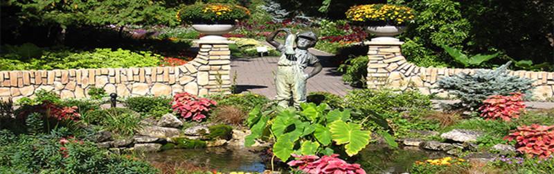 English Garden at Assiniboine Park