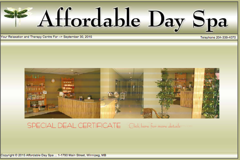 Affordable Day Spa