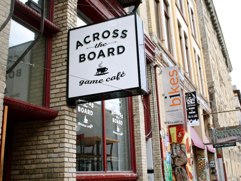 Across the Board Games Café
