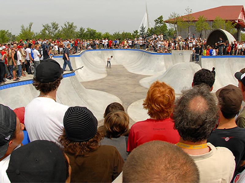 The Forks Skateboard Plaza