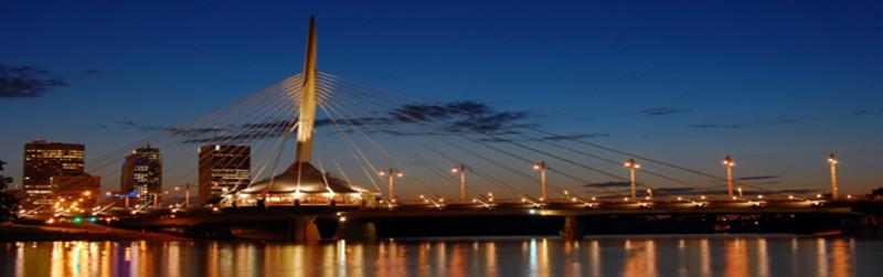 Esplanade Riel Pedestrian Bridge