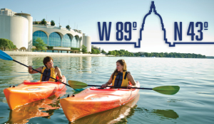 Kayak: Outdoor Adventure at 43° N, 89° W - Madison, WI