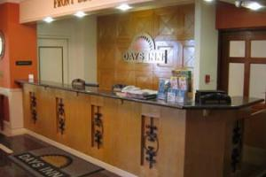 Days Inn Check-in Desk