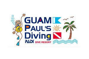 Guam Pauls Diving Logo