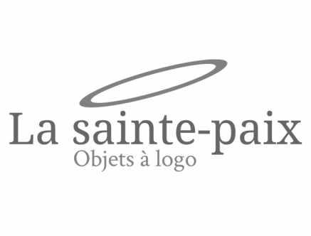 La Sainte-Paix objets à logo