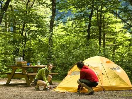 Camping Parc national de la Jacques-Cartier Les Alluvions