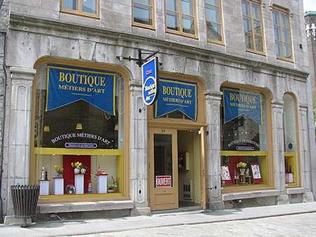 Boutiques métiers d'art du Québec