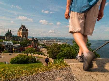 Les Sentiers du Vieux-Québec/Trails of Old Quebec