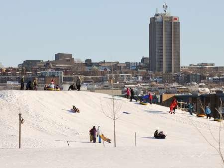 Site des sports d'hiver de la Pointe-aux-Lièvres