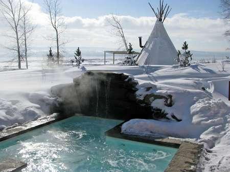 Spa des neiges