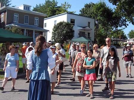 Trait-Carré (Heritage Site) - Walking tour