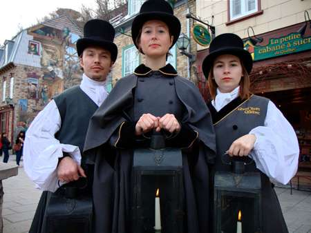 Ghost Tours of Quebec