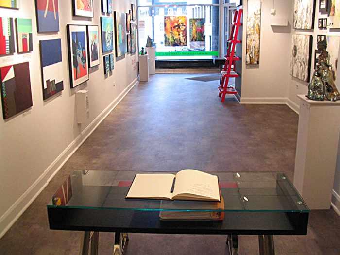 L'espace contemporain Galerie d'art