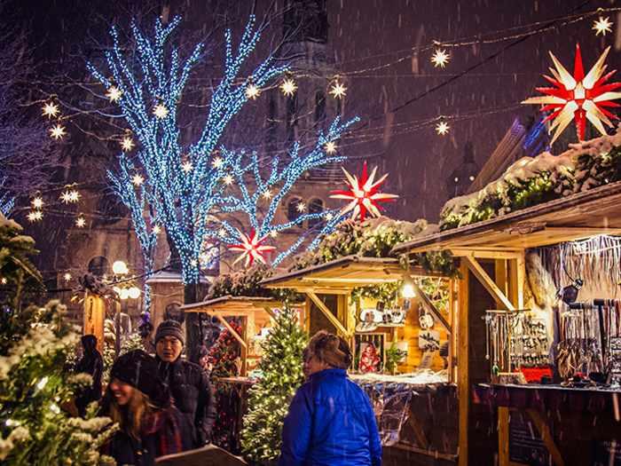 German Christmas Market in Québec City