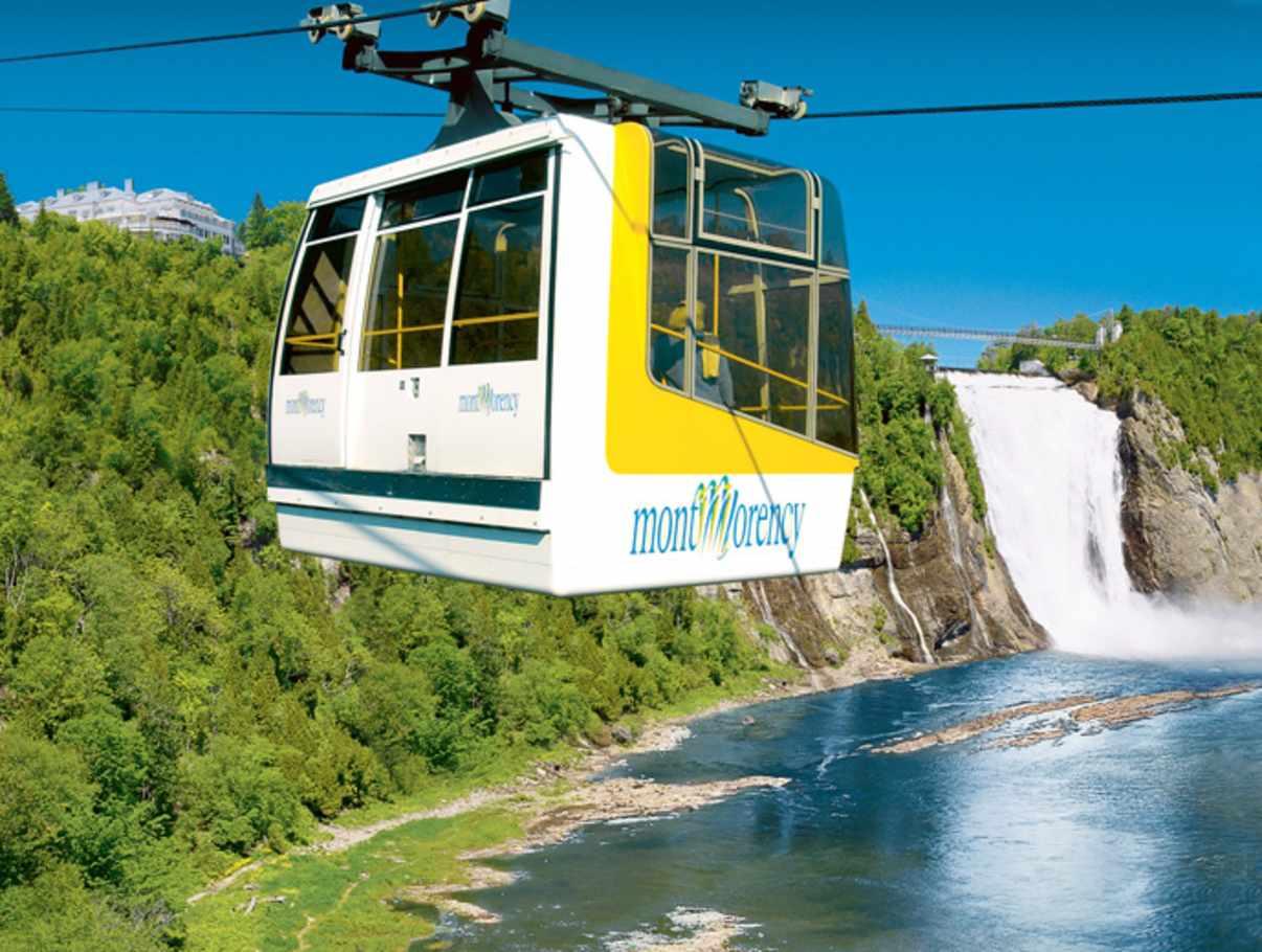 Parc De La Chute Montmorency Tourist Sites Quebec City And Area