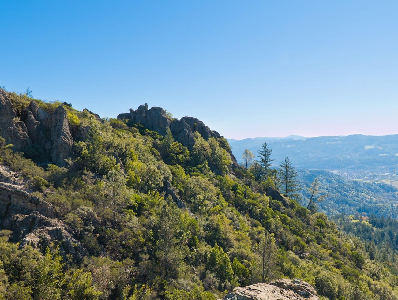 Hiking at Table Rock