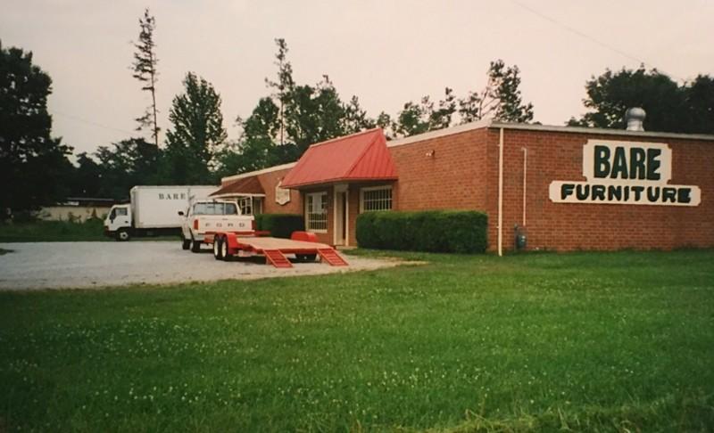 Bare Furniture CoRowan County North Carolina