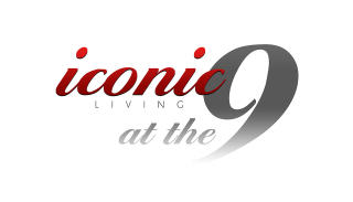 Iconic Living at the 9 Logo - NEW June 2017
