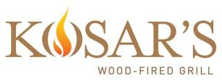 Logo - Kosar's Wood-Fired Grill