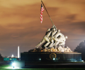Iwo Jima Memorial – U. S. Marine Corps War Memorial logo thumbnail