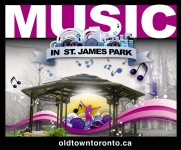Music in St. James Park