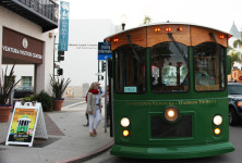 Downtown Harbor Trolley