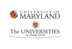 Universities at Shady Grove (USG) University of Maryland logo thumbnail