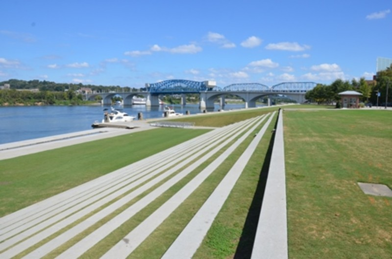 Steps on Riverfront