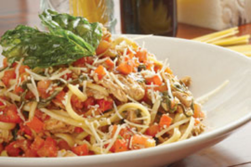 Tuscan Chicken Pasta at Big River Grille