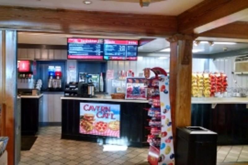 Cavern Cafe at Ruby Falls