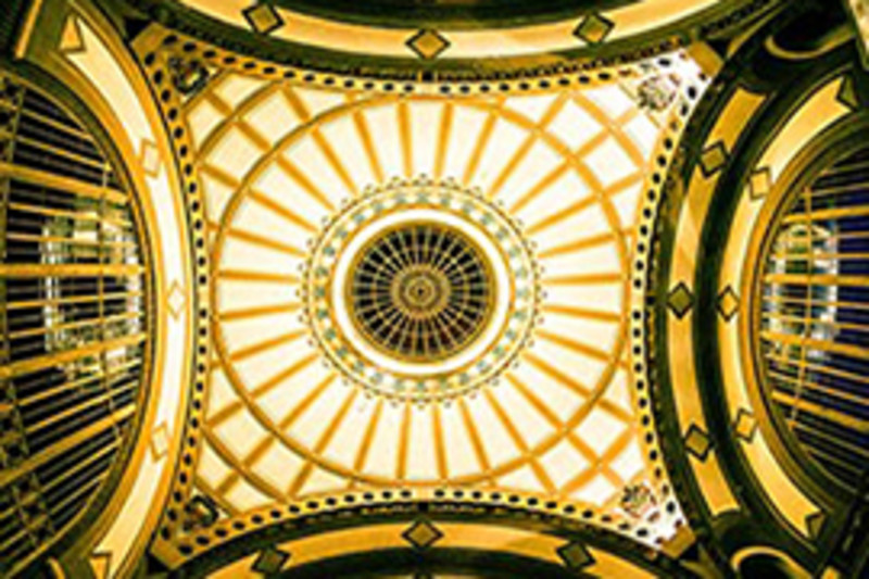 Dome in Choo Choo's Lobby