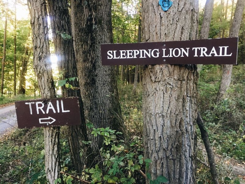 Sleeping Lion Trail