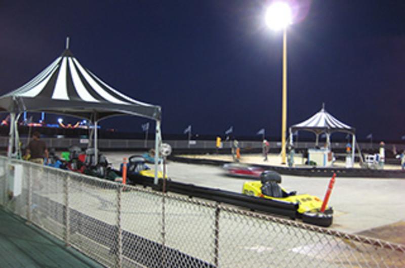 Central Pier Arcade & Speedway
