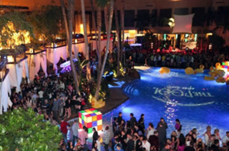 The pool after dark explore attraction in atlantic city for Pool trade show atlantic city
