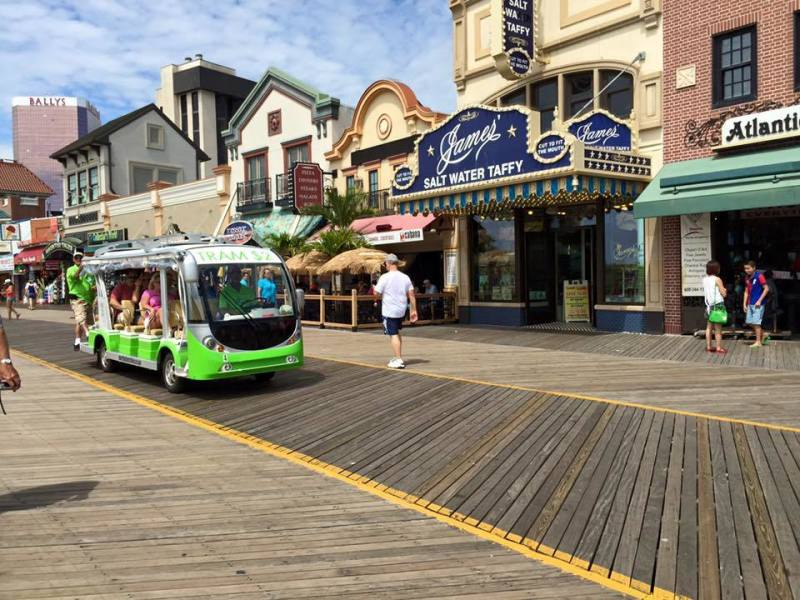 Boardwalk Tram Service