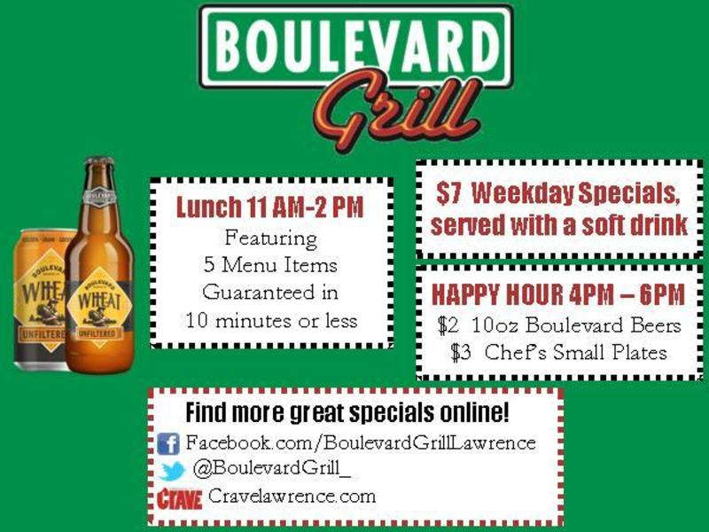 Bouldevard Grill Happy Hour