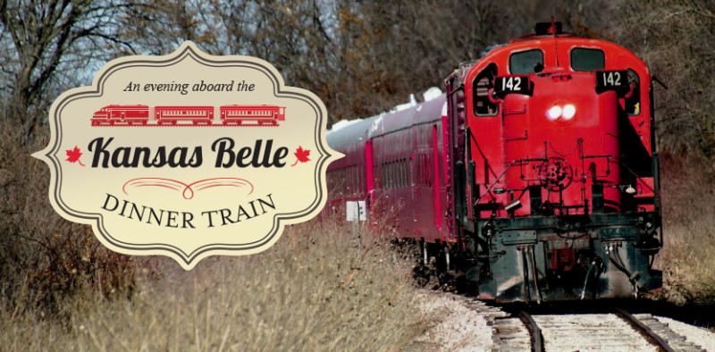 logo kansas belle dinner train