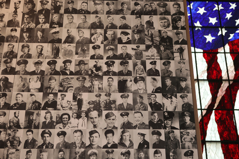 Dole Institute - Veteran's Wall