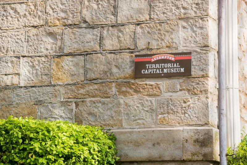 Outside Territorial Capital Museum