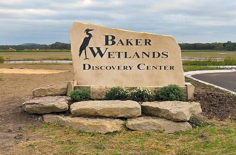 Baker Wetlands DC Sign