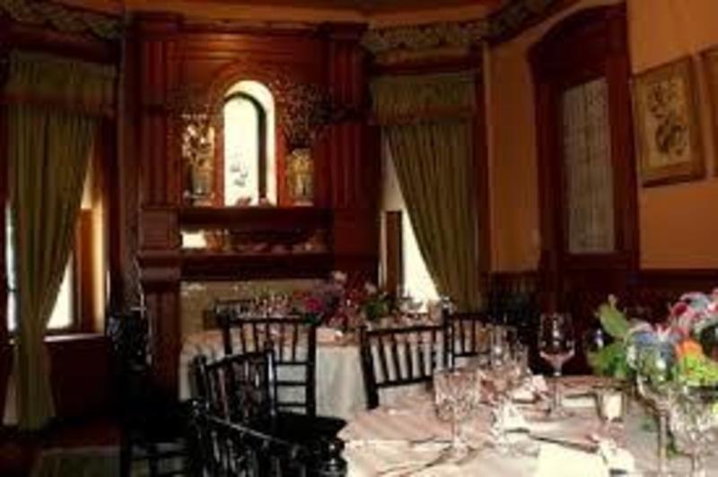 castle tea room banquet