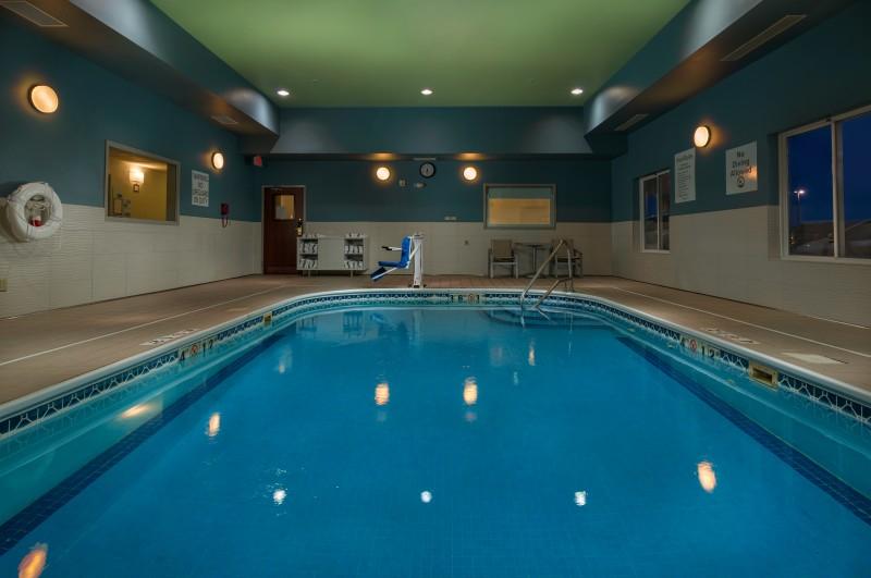 Indoor Salt Water Pool