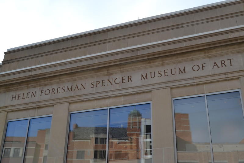 Spencer museum of art photo