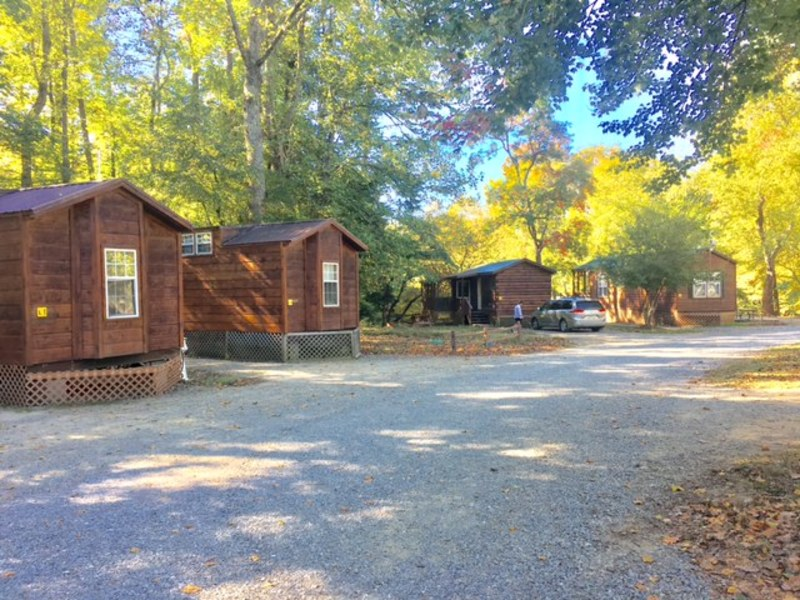 Fontana village resort cabins located in the center of for Watershed cabins lake fontana view