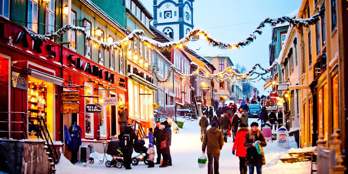 Тур в скандинавские страны на новый год