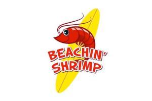 Beachin Shrimp Logo